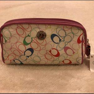 NWT Coach cosmetic bag
